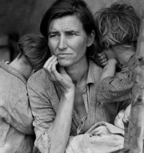 Migrant Mother, taken by Dorothea Lange in 1936
