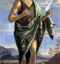 John the Baptist by Bartolomeo Veneto 16th century