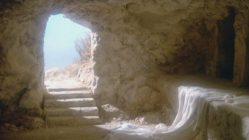 The empty tomb of Jesus Christ