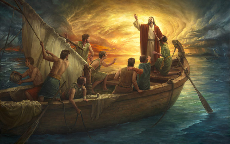 the storms of uncertainty in ones life No one is exempt from the storms of life but just as the disciples who initially feared the storm later came to revere christ more.
